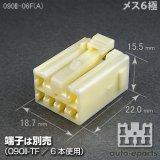 090型II/メス6極カプラ(A)