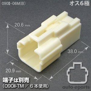 画像1: 090型II/オス6極カプラ(B)