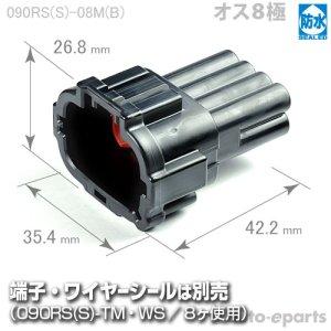 画像1: 090型RS防水/オス8極カプラ(B)