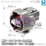 090型TS防水/メス2極カプラ(A)100pack
