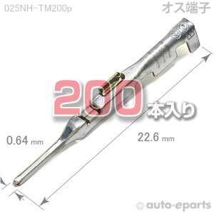 画像1: 025型NH/オス端子200pack