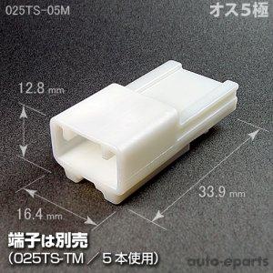 画像1: 025型TS/オス5極カプラ