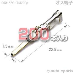 画像1: 060型62C/オス端子200pack