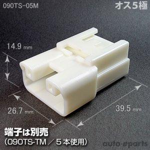 画像1: 090型TS/オス5極カプラ