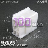 090型TS/メス6極カプラ(I)100pack