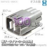 090型TS防水/オス6極カプラ(A)100pack