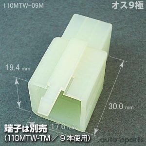 画像1: 110型MTW/オス9極カプラ